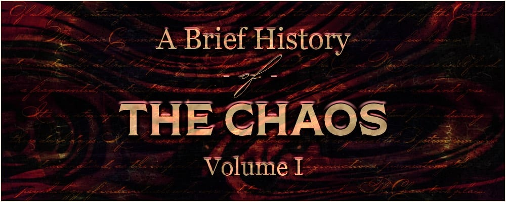 brief history vol one title card