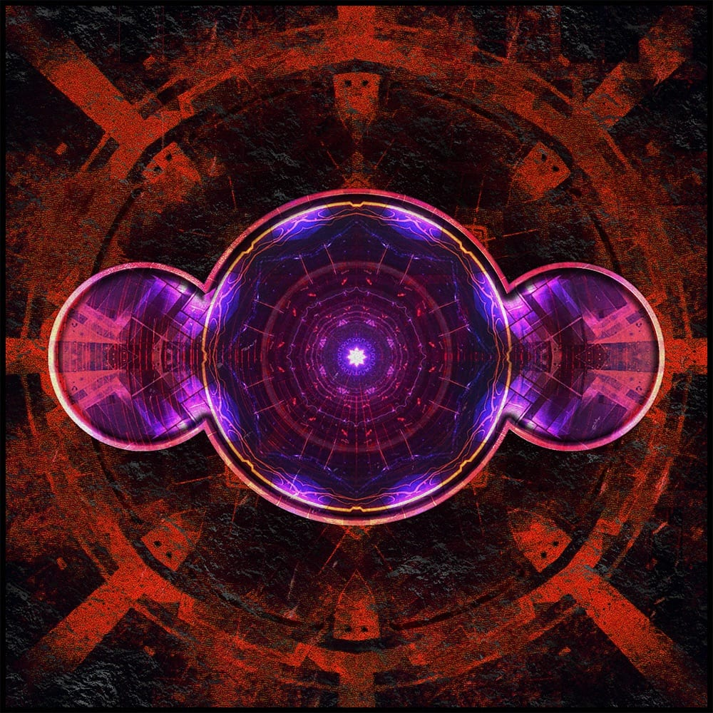 album cover for bayard's debut single 'aphelion'
