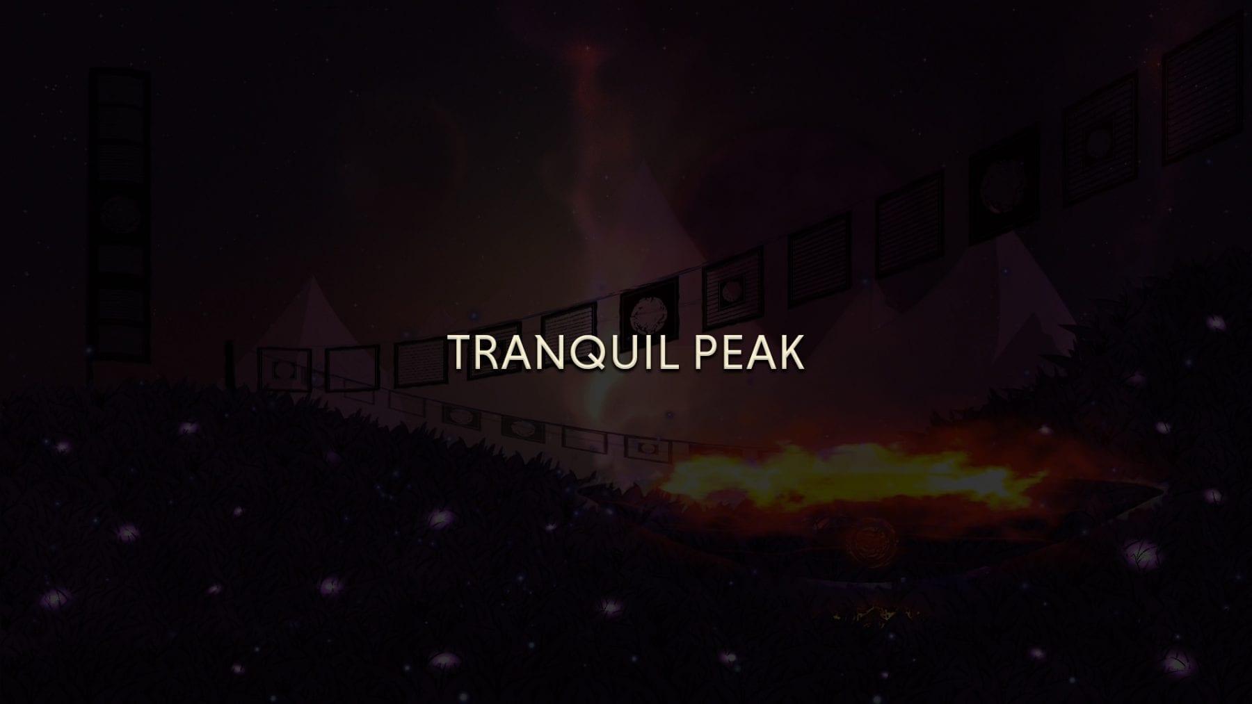 tranquil peak darkened