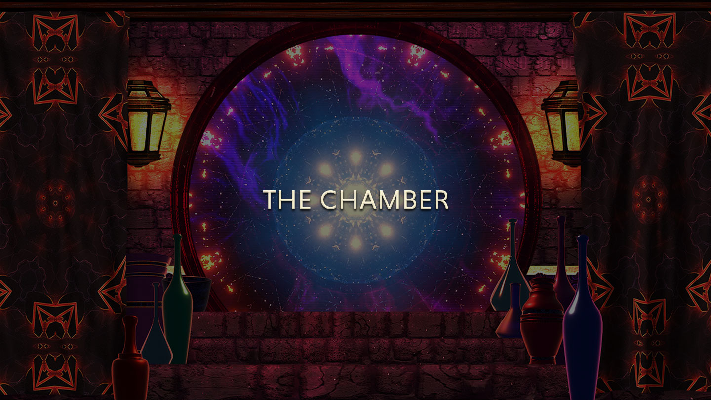 the chamber title card