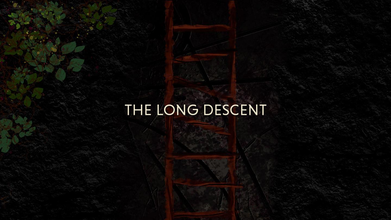 the long descent title card