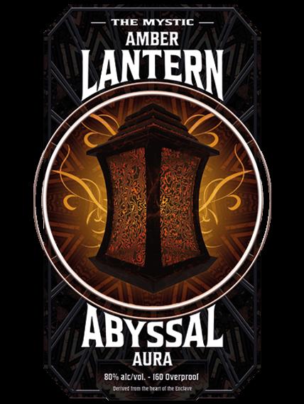 amber lantern - abyssal aura